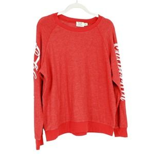 PST California Spell Out Long Sleeve Pullover NWOT